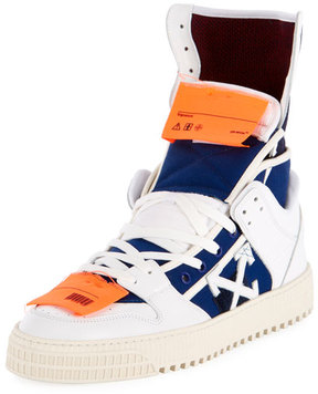 Off-White High 3.0 Leather High-Top Sneaker