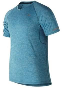 New Balance Men's MT81202 Ice 2.0 Mesh Short Sleeve Shirt