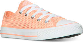 Converse Little Girls' Chuck Taylor Ox Casual Sneakers from Finish Line