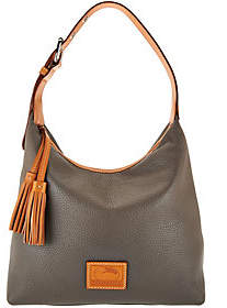 Dooney & Bourke Patterson Pebble Leather Hobo- Paige - ONE COLOR - STYLE