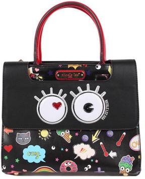Women's Nicole Lee Fun Story Print Tote Handbag