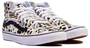 Vans Unisex Sk8-Hi Slim Eley Kishimoto Sneakers White M3.5 W5