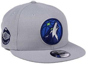 New Era Minnesota Timberwolves Gray Pop 9FIFTY Snapback Cap
