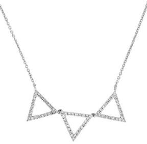 Bony Levy Women's Three Triangle Diamond Pendant Necklace (Nordstrom Exclusive)