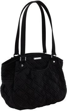 Vera Bradley Glenna Quilted Tote - BLACK - STYLE