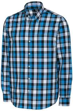 Cutter & Buck Blue Lake Plaid Button-Up - Men