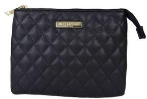 LeVian Suzy Medium Faux Leather Quilted Clutch Handbag