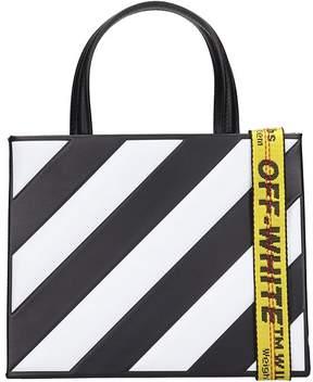 Off-White Off White Black Leather Bag