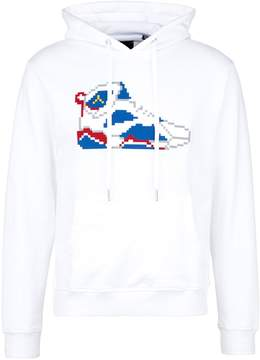 Mostly Heard Rarely Seen 'Go For The Gold Sneaker' rubber appliqué unisex hoodie