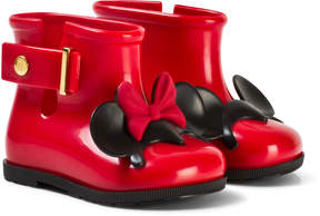 Mini Melissa Red Mini Mouse Ears Wellies