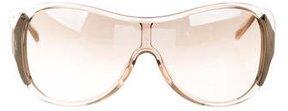 Saint Laurent Shield Gradient Sunglasses