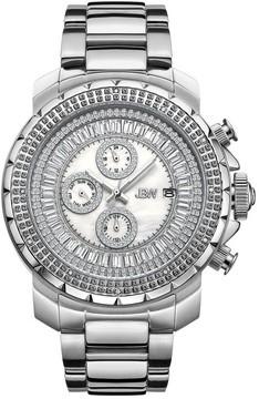JBW Titus Diamond Dial Stainless Steel Men's Watch