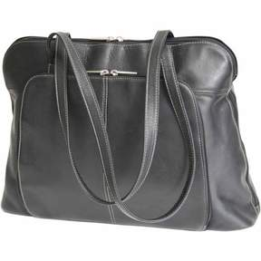 Royce Leather Executive Colombian Vaquetta Leather Tote Bag