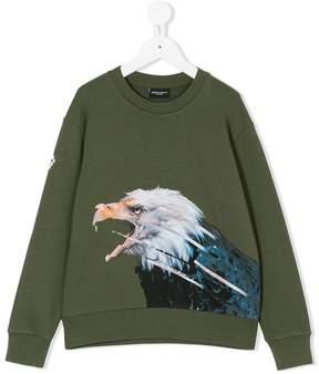 Marcelo Burlon County of Milan Kids eagle print sweatshirt