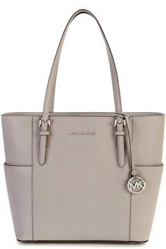 MICHAEL Michael Kors Jet Set Large Tote - PEARL GREY - STYLE