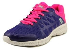 Fila Finity Youth Round Toe Synthetic Purple Running Shoe.