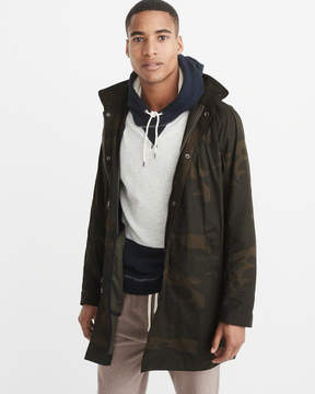 Abercrombie & Fitch Military Rain Jacket