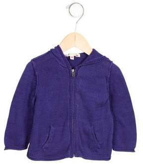 Bonpoint Boys' Hooded Zip-Up Sweater