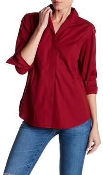 Foxcroft Eva Fitted Long Sleeve Shirt
