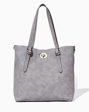 Charming charlie Turnlock Tote Bag-In-Bag