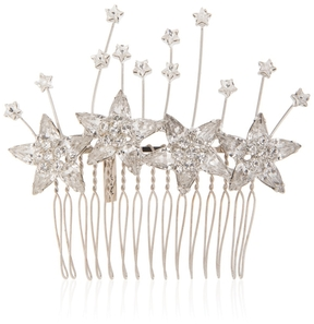 Jennifer Behr Astra Comb with Star Crystals