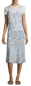 DAY Birger et Mikkelsen Becken Bias Floral Silk Slip Dress