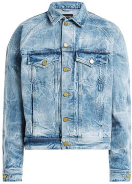 Fear Of God Selvedge Bleached Denim Jacket
