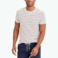 J.Crew Factory J.Crew Mercantile Broken-in seaside striped T-shirt
