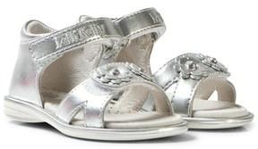 Lelli Kelly Kids Silver Sabrina Floral Sandals