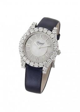 Chopard Heure du Diamant Diamond Guilloche Dial Ladies Watch