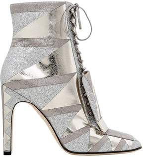 Sergio Rossi 105mm Metallic Leather Boots