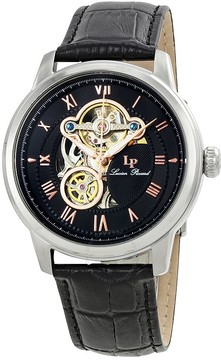 Lucien Piccard Optima Automatic Men's Open Heart Watch