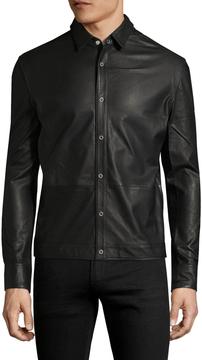 BLK DNM Men's 20 Leather Collar Jacket