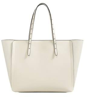 MANGO Stud shopper bag