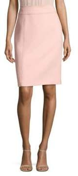BOSS Vuleamea Soft Compact Twill Pencil Skirt