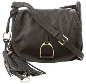 Ralph Lauren Tassel-Embellished Saddle Bag w/ Tags