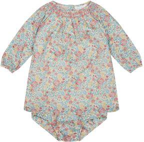Polo Ralph Lauren Floral Print Long Sleeve Dress