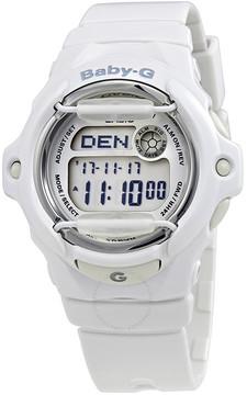 Casio Baby-G White Resin Digital Ladies Watch