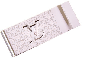 Louis Vuitton Silver-Tone Champs Elysees Money Clip