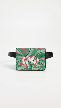 Charlotte Olympia Flamingo Belt Bag