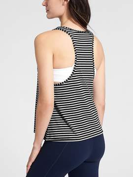 Athleta Stripe Essence Low Tank