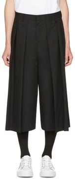 McQ Black Atami Kilt Shorts