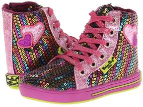 Western Chief Rainbow Glitz Hi-Top (Toddler/Little Kid)