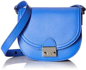 Loeffler Randall Saddle Tumbled Leather Saddle Cross Body