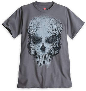 Disney Hatbox Ghost Skull Tee for Men - The Haunted Mansion