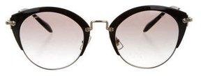 Miu Miu Logo Cat-Eye Sunglasses