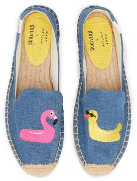 Soludos Floaties Slip-On Platform Espadrille