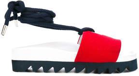 Joshua Sanders rope strap sandals