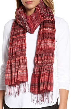 Eileen Fisher Women's Puckered Silk Blend Scarf