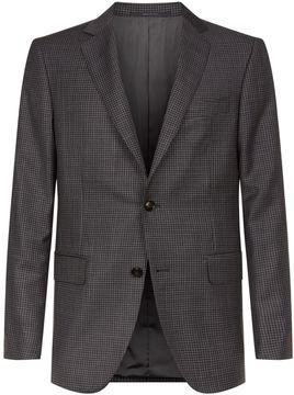 Pal Zileri Houndstooth Wool Suit Jacket